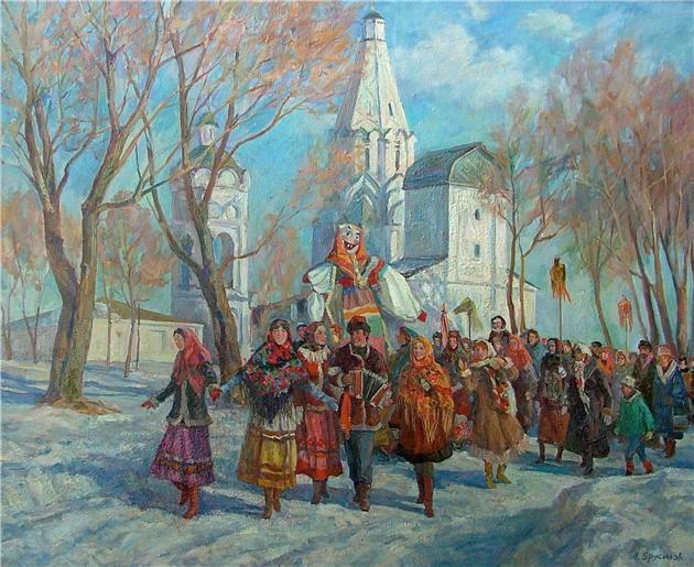 Гуляние. Масленица в Коломенском